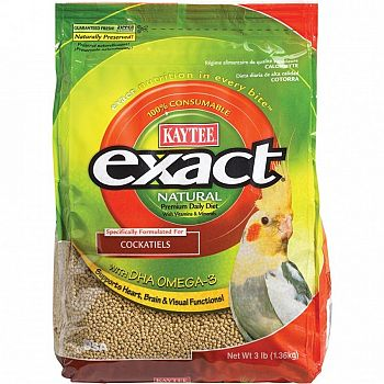 Cockatiel Exact Food 3 lbs