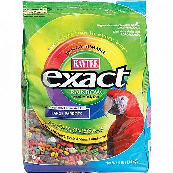 Parrot Exact Rainbow Chunky 4 lbs