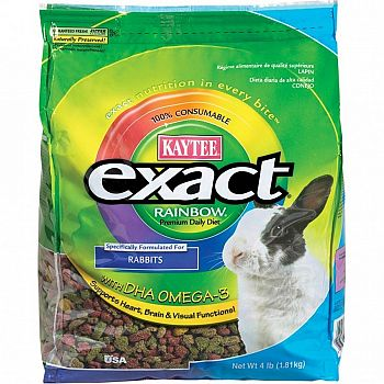 Kaytee Exact Rainbow Rabbit 4 lb