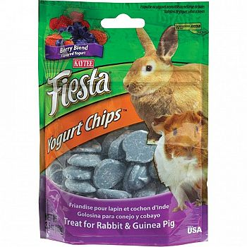 Fiesta Yogurt Chips for Rabbits and Guinea Pigs - 3.5 oz.