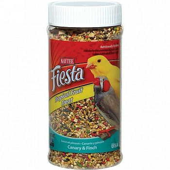 Fiesta Canary and Finch Tropical Fruit Treats - 10 oz.