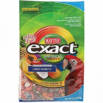 Exact Fruity Rainbow Large Parrot - 2 lbs