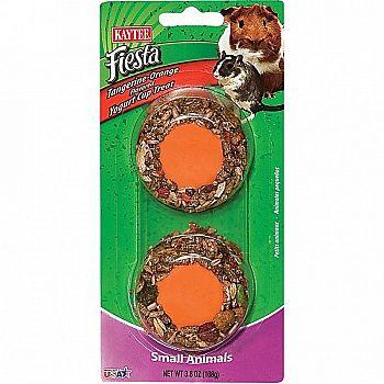 Fiesta Orange Yogurt Cup for Small Pets - 3.8 oz.