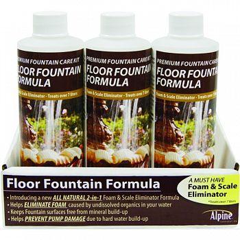 Floor Fountain Formula Cleaner Display  8 OUNCE/12PIECE