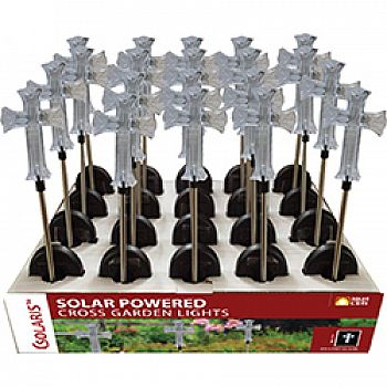 Solar Cross Garden Stake (Case of 20)