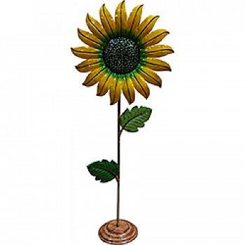 Metal Sunflower Garden Statue Decor (Case of 4)