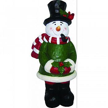 Snowman Garden Statue  12 INCH