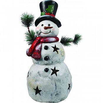 Christmas Snowman Statue  22 INCH