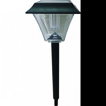 Lantern Lumen Solar Pathway Lights BLACK 7X6X23 INCH (Case of 6)