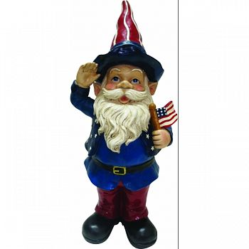 Americana Gnome RED/WHITE/BLUE 11X9X22 INCH