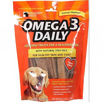 Healthy Hid Omega 3 Daily Chew Treat  30 PACK