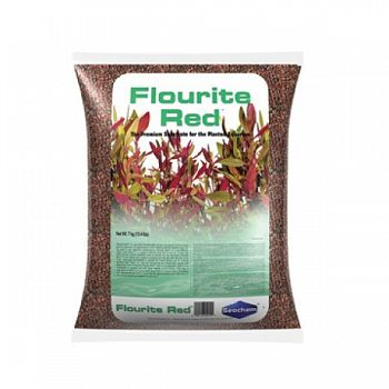 Flourite Sand - Red 7 kg ea. (Case of 2)