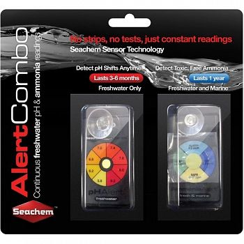 Aqarium Alert Combo Pack - Ammonia and PH