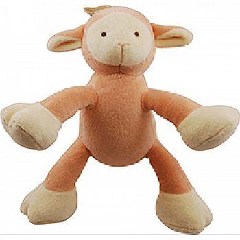 Brooklyn Design Lolly Lamb Plush Squeaker Dog Toy
