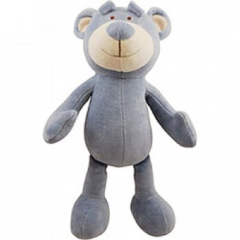 Brooklyn Desgin Wally Bear Plush Squeaker Dog Toy
