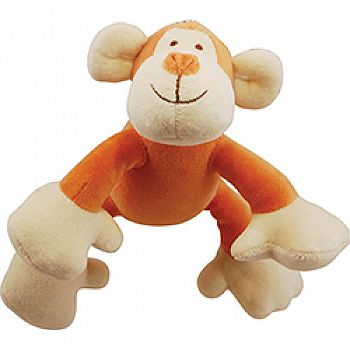 Brooklyn Design Oscar Monkey Plush Squeaker Toy