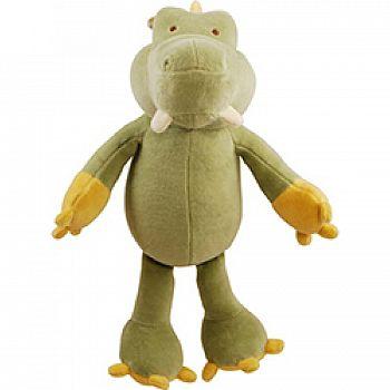 Brooklyn Design Gary Alligator Plush Squeaker Toy