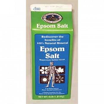 Epsom Salt 4 lbs (Case of 6)