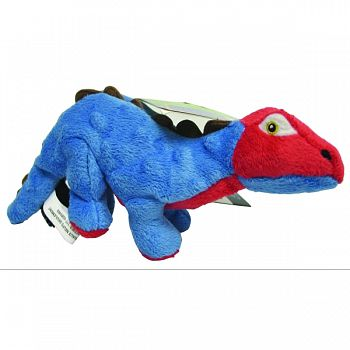 Dinos Spike The Stegosaurus Dog Toy BLUE SMALL