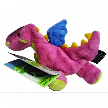 Dragons Dog Toy CORAL SMALL