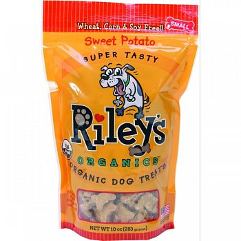 Riley S Small Dog Biscuits SWEET POTATO 10 OZ/SMALL
