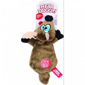 Hear Doggy Flattie Deer Ultrasonic Dog Toy