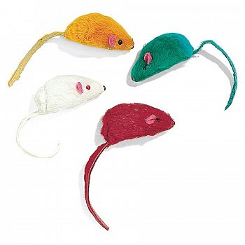 Classic Plush Mice for Cats - 4 pack