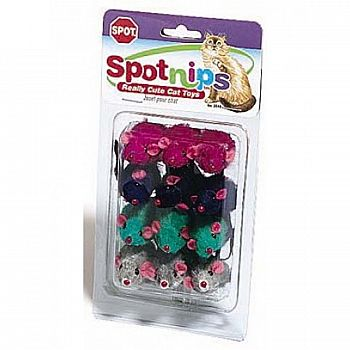 Spotnips Plush Mice - 12 ct.