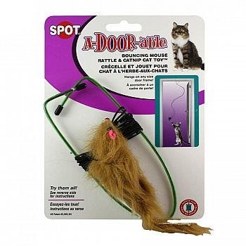 A-Door-Able Real Fur Mouse