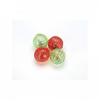 Shimmer Balls Cat Toy 4 pack
