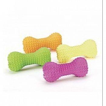 Stuffed Latex Bone Dog Toy