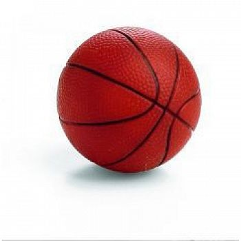 Vinyl Basketball Dog Toy 3 in.
