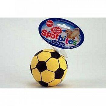 Stuffed Latex Soccer Ball Dog Toy