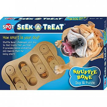 Seek-A-Treat Shuffle Bone  - 12in.