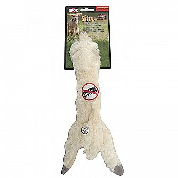 Skinneeez Wooly Sheep Dog Toy 13 in.