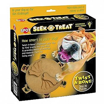 Spot Seek-a-treat Advanced Challenge Twist-a-bone