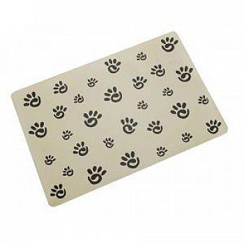 Designer Paw Print Pet Placemat