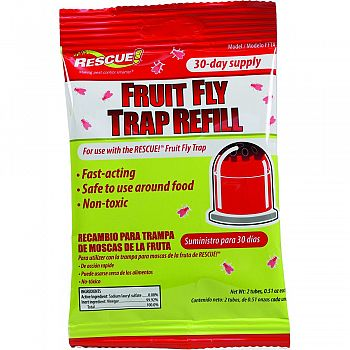Rescue Fruit Fly Trap Refill  30 DAY SUPPLY