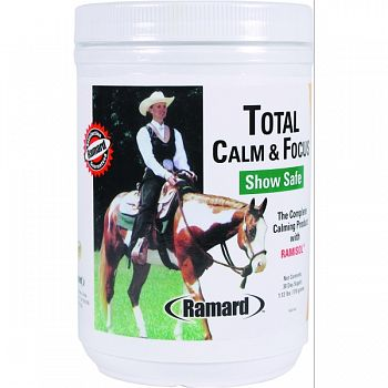 Total Calm & Focus Show Safe Supplement For Horses  1.12 LB/30DAY