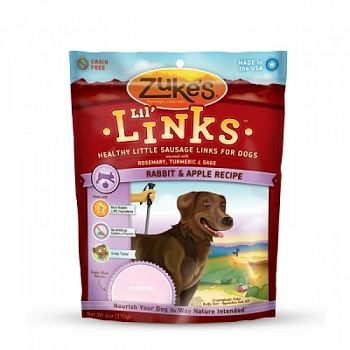 Lil  Links Rabbit Recipe for Dogs- 6 oz.