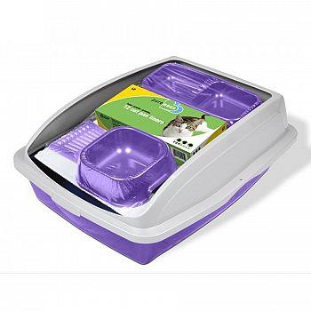 Kit Kaboodle Cat Starter Kit (Litter box / bowls)