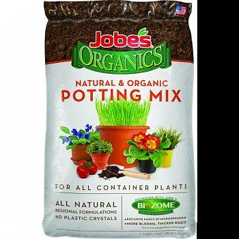 Jobes Organics Potting Mix  1 CUBIC FOOT