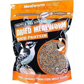 Mealworm To Go Dried Mealworm 30 oz. Tub