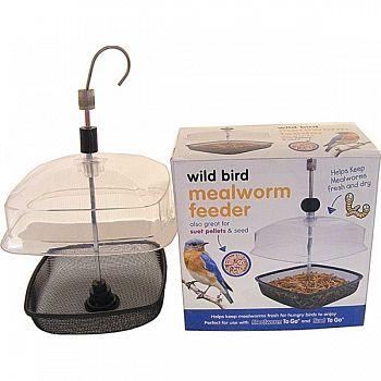 Premium Wild Bird Mealworm Feeder