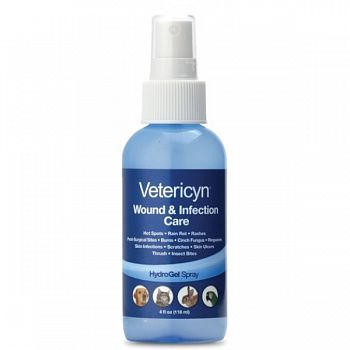 Vetericyn Hydrogel Spray 4 oz.