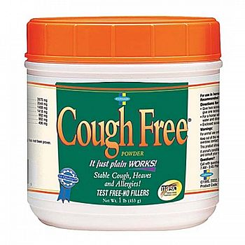 Cough Free Powder for Horses - 1 lbs