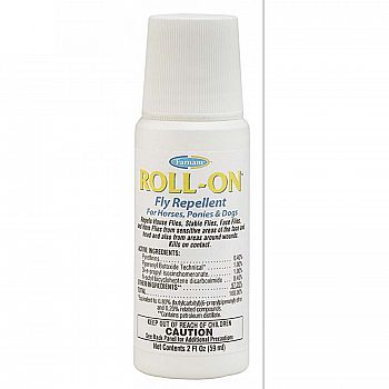 Roll-On Fly Repellent for Horses 2 oz.