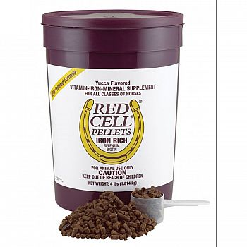 Equine Red Cell Pellets - 4 lb.