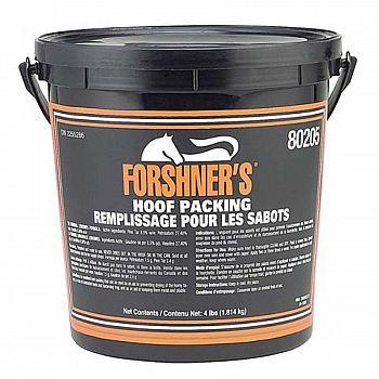 Forshners Medicated Hoof Pack - 4 lbs
