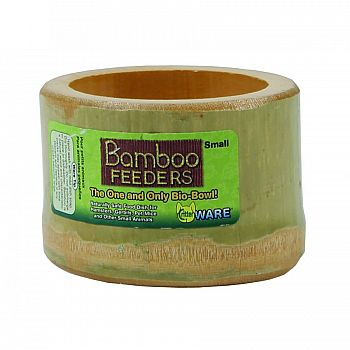 Bamboo Feeders Bowl For Small Animals